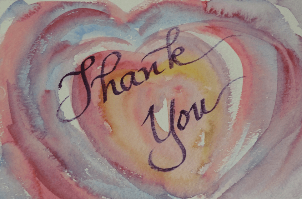 Thank You! Heart to Heart